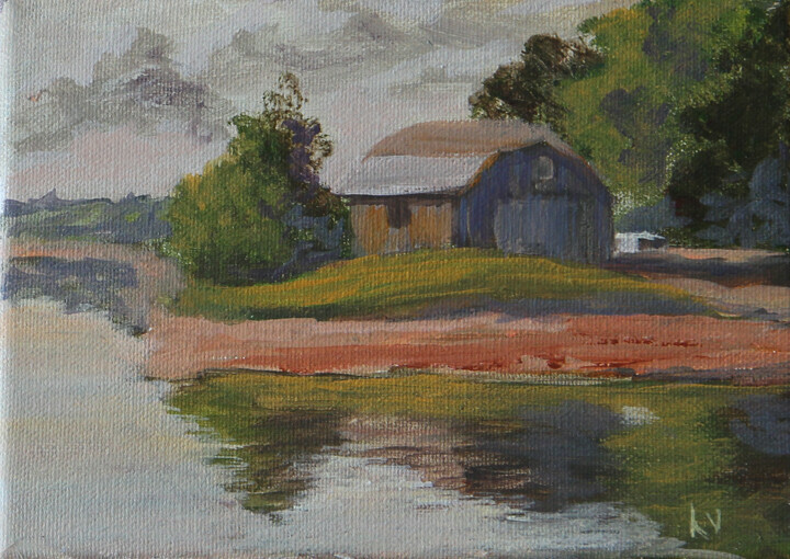FISHING SHED - Sold