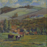 Fall Fields - Sold