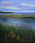 Reeds by the Water---SOLD