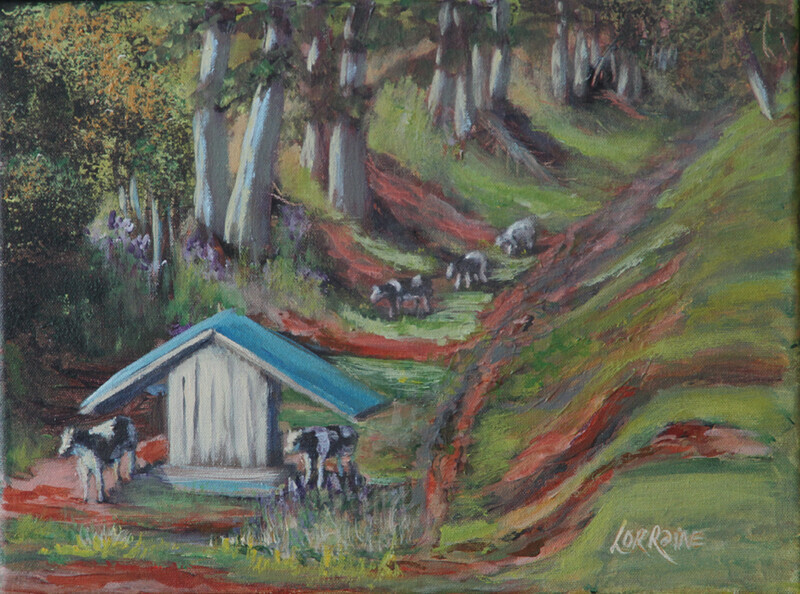 Study For Orwell Cattle- Sold